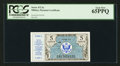 Military Payment Certificates:Series 472, Series 472 5 Cents PCGS Gem New 65PPQ.. ...
