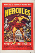 "Movie Posters:Action, Hercules (Warner Brothers, 1959). One Sheet (27"" X 41""). Action.. ..."
