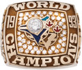Baseball Collectibles:Others, 1993 Toronto Blue Jays World Championship Ring....