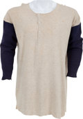 Baseball Collectibles:Uniforms, Early 1950's Ted Williams Game Worn Boston Red Sox Undershirt....
