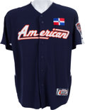 Baseball Collectibles:Uniforms, 2005 David Ortiz All-Star Game Home Run Derby Worn Signed Jersey....