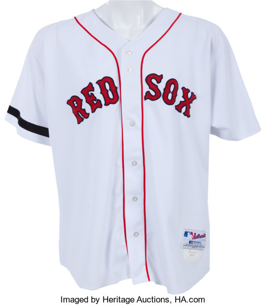 pretty nice 17b88 480a6 2002 Manny Ramirez Game Worn Boston Red Sox Jersey ...