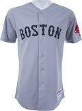 Baseball Collectibles:Uniforms, 2009 Jacoby Ellsbury Game Worn Boston Red Sox Jersey. ...