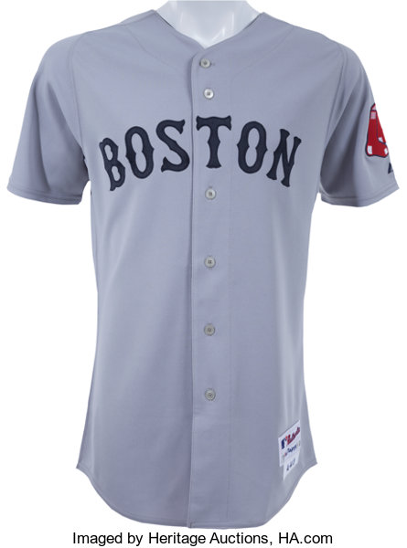 best website ec945 0f438 2009 Jacoby Ellsbury Game Worn Boston Red Sox Jersey ...