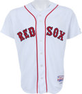 Baseball Collectibles:Uniforms, 2009 Dustin Pedroia Game Worn Boston Red Sox Jersey. ...