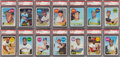 Baseball Cards:Sets, 1969 Topps Baseball High Grade Complete Set (664) With 254 PSA Graded Cards. ...