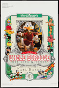 "Movie Posters:Animation, Walt Disney's Uncle Scrooge McDuck: His Life & Times (Celestial Arts, 1987). Poster (12"" X 18""). Animation.. ..."