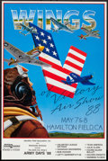 "Movie Posters:War, Wings of Victory Air Show '88 (Worldwide Airshows, 1988). EventPoster (18"" X 27.25""). War.. ..."