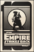 "Movie Posters:Science Fiction, The Empire Strikes Back (Kilian Enterprises, R-1990). Mylar TestOne Sheet (27"" X 41"") Tenth Anniversary Gold Style B. Scien..."