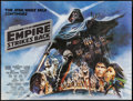 """Movie Posters:Science Fiction, The Empire Strikes Back (20th Century Fox, 1980). British Quad (30""""X 40"""") Black Title Style. Science Fiction.. ..."""