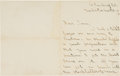 Autographs:Others, 1912 Hugh Duffy Handwritten Signed Letter....