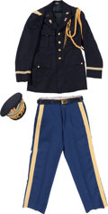 Baseball Collectibles:Others, 1960's Stan Musial Ceremonial Army Dress Uniform from The Stan Musial Collection....