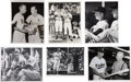 Baseball Collectibles:Photos, Stan Musial Original Photographs Lot of 22....