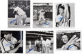 Baseball Collectibles:Photos, Stan Musial Signed Original Photographs Lot of 35....