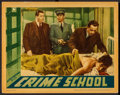 "Movie Posters:Crime, Crime School (Warner Brothers, 1938). Lobby Card (11"" X 14"").Crime.. ..."