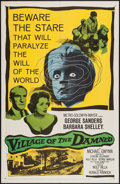 "Movie Posters:Science Fiction, Village of the Damned (MGM, 1960). One Sheet (27"" X 41""). Science Fiction.. ..."