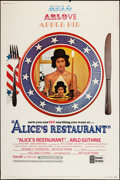 "Movie Posters:Comedy, Alice's Restaurant (United Artists, 1969). Poster (40"" X 60""). Comedy.. ..."