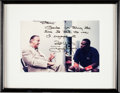 Autographs:Photos, Early 1990's Tony Gwynn Signed Photograph to Stan Musial....