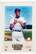Autographs:Photos, 1980's Ernie Banks Inscribed Photograph from The Stan MusialCollection....