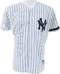 Autographs:Others, 1999 New York Yankees Team Signed Jersey. ...