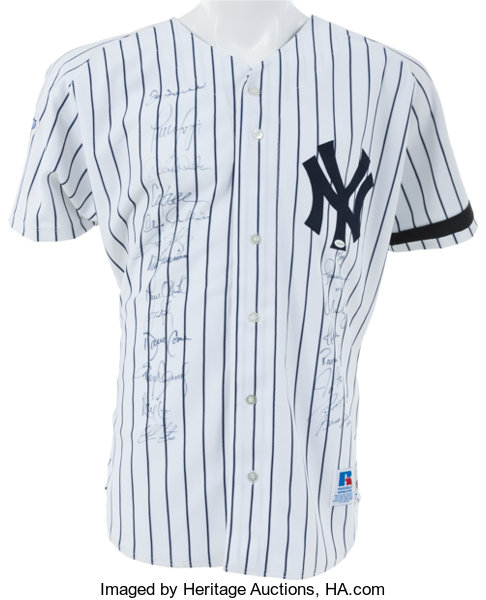 1999 New York Yankees Team Signed Jersey. ... Autographs Others ... 40f883887d1