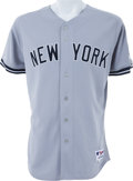 Baseball Collectibles:Uniforms, 2009 Mariano Rivera Game Worn New York Yankees Jersey....