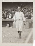Baseball Collectibles:Photos, Circa 1920 Babe Ruth Photograph by Paul Thompson, PSA/DNA Type 1....