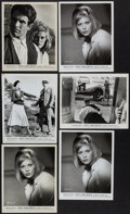 "Movie Posters:Crime, Bonnie and Clyde and Other Lot (Warner Brothers-Seven Arts, 1967).Portrait and Scene Photos (9) (8"" X 10""). Crime.. ... (Total: 9Items)"
