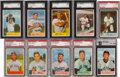 Baseball Cards:Sets, 1954 Bowman Baseball Complete Set (224) With Ted Williams. ...