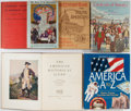 Books:Americana & American History, [American History]. Lot of Six Books of American History. Variouspublishers, places, dates. Illustrated. Quartos. One in ja...(Total: 6 Items)