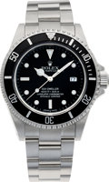 Timepieces:Wristwatch, No Shipping into the U.S. - Rolex Ref. 16600 Steel Oyster Perpetual Date Sea-Dweller, circa 2000. ...