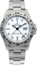 Timepieces:Wristwatch, No Shipping into the U.S. - Rolex Ref. 16570 Steel Explorer II,circa 1999. ...