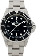 Timepieces:Wristwatch, No Shipping into the U.S. - Rolex Ref. 14060 Steel Oyster Perpetual Submariner, circa 1999. ...