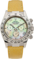 Timepieces:Wristwatch, No Shipping into the U.S. - Rolex Ref. 16519 Gold Oyster PerpetualCosmograph Daytona, circa 2000. ...