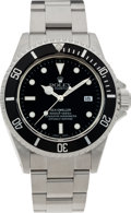 Timepieces:Wristwatch, No Shipping into the U.S. - Rolex Ref. 16600 Oyster Perpetual Sea-Dweller, circa 1999. ...
