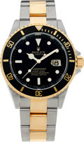 Timepieces:Wristwatch, No Shipping into the U.S. - Rolex Ref. 16613 Two Tone OysterPerpetual Submariner, circa 2003. ...