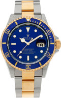 Timepieces:Wristwatch, No Shipping into the U.S. - Rolex Ref. 16613 Two Tone Oyster Perpetual Submariner, circa 1993. ...
