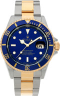 Timepieces:Wristwatch, No Shipping into the U.S. - Rolex Ref. 16613 Two Tone Oyster Perpetual Submariner, circa 1997. ...