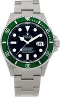 Timepieces:Wristwatch, No Shipping into the U.S. - Rolex Ref. 16610 Steel Oyster Perpetual Submariner, circa 2003. ...