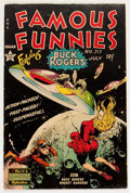 Golden Age (1938-1955):Science Fiction, Famous Funnies #212 (Eastern Color, 1954) Condition: VG-....