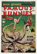 Golden Age (1938-1955):Science Fiction, Famous Funnies #215 (Eastern Color, 1955) Condition: VG-....