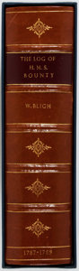 Books:World History, [Genesis Publications]. William Bligh. The Log of the H.M.S.Bounty 1787-1789. Genesis Publications, 1975. Limited...