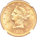 Liberty Eagles, 1879-S $10 MS64+ NGC....