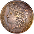 Morgan Dollars, 1893-S $1 -- Cleaning -- PCGS Genuine. XF Details....