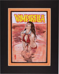 Original Comic Art:Miscellaneous, John K. Snyder III Vengeance of Vampirella #5 CoverPreliminary Original Art (Harris, 1994)....