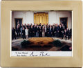 Autographs:Others, 2000's George W. Bush Autopen Signed Photograph from The StanMusial Collection....