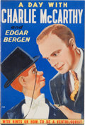 Memorabilia:Movie-Related, A Day With Charlie McCarthy and Edgar Bergen #770 Story Book(Whitman, 1938) Condition: VF/NM....
