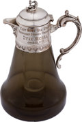 """Baseball Collectibles:Others, 1971 Stan Musial Presentational """"East-West All-Stars"""" Carafe & Glass...."""