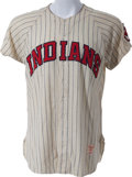 Baseball Collectibles:Uniforms, 1958 Rocky Colavito Game Worn Cleveland Indians Jersey, MEARS A8....