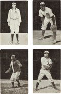 Baseball Cards:Sets, 1907-09 PC765-1 Dietsche Detroit Tigers Postcards (15) With Cobb. ...